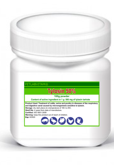 Tylan 50 Soluble Powder